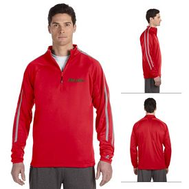 Customized Russell Athletic 8TPEFM Tech Fleece Quarter-Zip Cadet Jacket