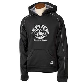 Customized Russell Athletic 955EFB Youth Tech Fleece Pullover Hood