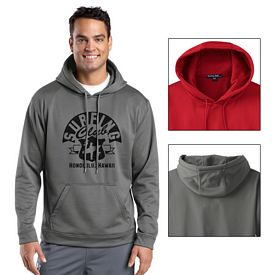 Customized Sport-Tek F244 Sport-Wick Fleece Hooded Pullover