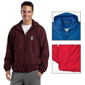 Customized Sport-Tek JST73 Hooded Raglan Jacket