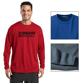 Customized Sport-Tek K368 Dri-Mesh Long Sleeve T-Shirt