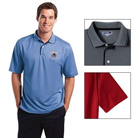 Customized Sport-Tek K467 Dri-Mesh Polo with Tipped Collar and Piping