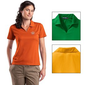 Customized Sport-Tek L469 Ladies Dri-Mesh V-Neck Polo