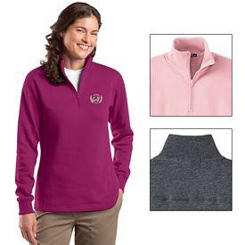 Customized Sport-Tek LST253 Ladies 1/4-Zip Sweatshirt