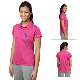 Customized Sport-Tek LST659 Ladies Contrast Stitch Micropique Sport-Wick Polo