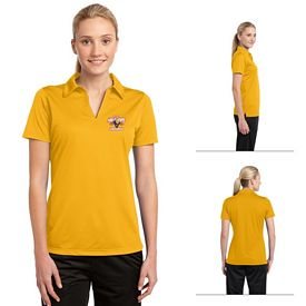 Customized Sport-Tek LST690 Ladies Active Textured Polo
