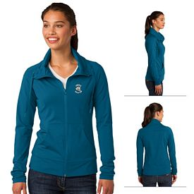 Customized Sport-Tek LST852 Ladies Sport-Wick Stretch Full-Zip Jacket