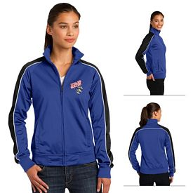 Customized Sport-Tek LST92 Ladies Piped Tricot Track Jacket