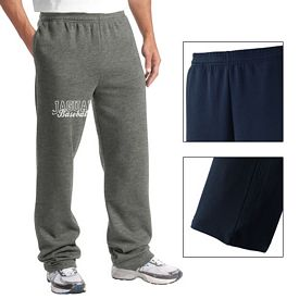 Customized Sport-Tek ST257 Open Bottom Sweatpant