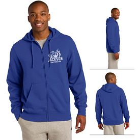 Customized Sport-Tek ST258 Full-Zip Hooded Sweatshirt