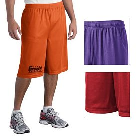 Customized Sport-Tek ST511 Extra Long PosiCharge Classic Mesh Short