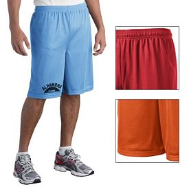 Customized Sport-Tek ST515 Long PosiCharge Classic Mesh Short