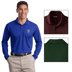 Customized Sport-Tek ST657 Long Sleeve Micropique Sport-Wick Polo