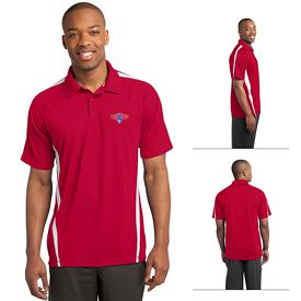 Customized Sport-Tek ST685 PosiCharge Micro-Mesh Colorblock Polo