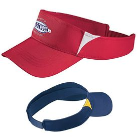 Customized Sport-Tek STC13 Dry Zone Colorblock Visor
