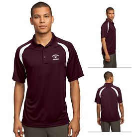 Customized Sport-Tek T476 Dry Zone Colorblock Raglan Polo