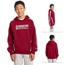 Customized Sport-Tek YST265 Youth Sleeve Stripe Pullover Hooded Sweatshirt