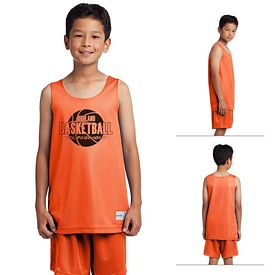 Customized Sport-Tek YST500 Youth PosiCharge Classic Mesh Reversible Tank