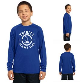 Customized Sport-Tek YST700LS Youth Long Sleeve Ultimate Performance Crew