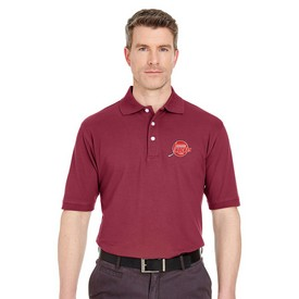 Customized UltraClub 7500 Men's Classic Platinum Polo