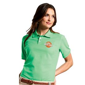 Customized UltraClub 7500L Ladies' Classic Platinum Polo