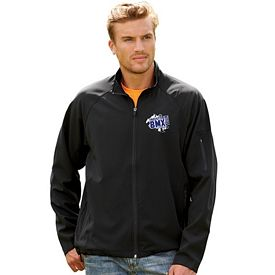 Customized UltraClub 8271 Adult Lightweight Soft Shell Jacket