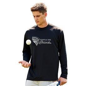 Customized UltraClub 8401 Adult Cool & Dry Sport Long-Sleeve Tee