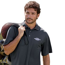 Customized UltraClub 8405T Men's Tall Cool & Dry Sport Polo
