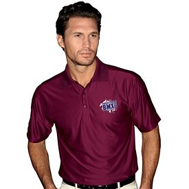 Customized UltraClub 8415T Men's Tall Cool & Dry Elite Performance Polo