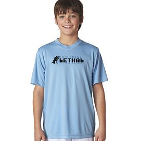 Customized UltraClub 8420Y Youth Cool & Dry Sport Performance Interlock Tee
