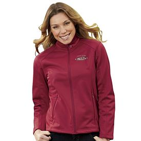 Customized UltraClub 8477L Ladies' Soft Shell Jacket