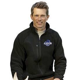 Customized UltraClub 8495 Adult Full-Zip Micro-Fleece Jacket with Pocket