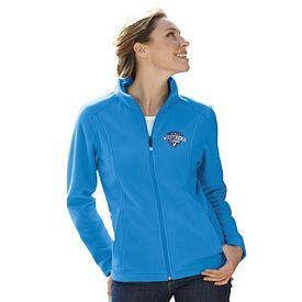 Customized UltraClub 8498 Ladies' Micro-Fleece Full-Zip Jacket