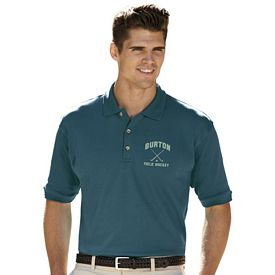 Customized UltraClub 8505 Men's Egyptian Interlock Polo