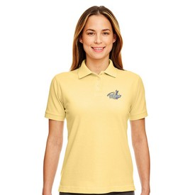 Customized UltraClub 8530 Ladies' Classic Pique Polo