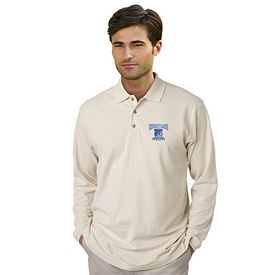 Customized UltraClub 8532 Adult Long-Sleeve Classic Pique Polo
