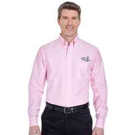 Customized UltraClub 8970 Men's Classic Wrinkle-Free Long-Sleeve Oxford