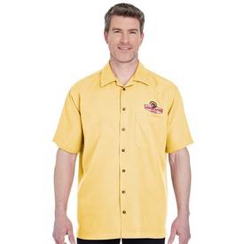 Customized UltraClub 8980 Men's Cabana Breeze Camp Shirt