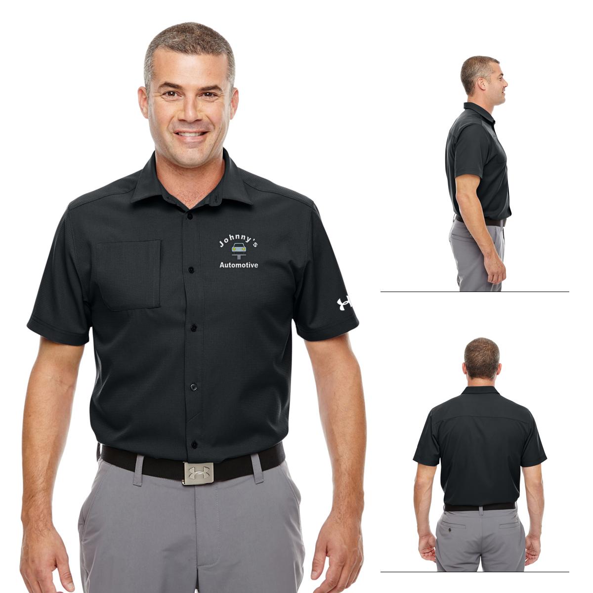 fd93d0bf5d5ae Promotional Under Armour Men's Ultimate Short Sleeve Buttondown ...