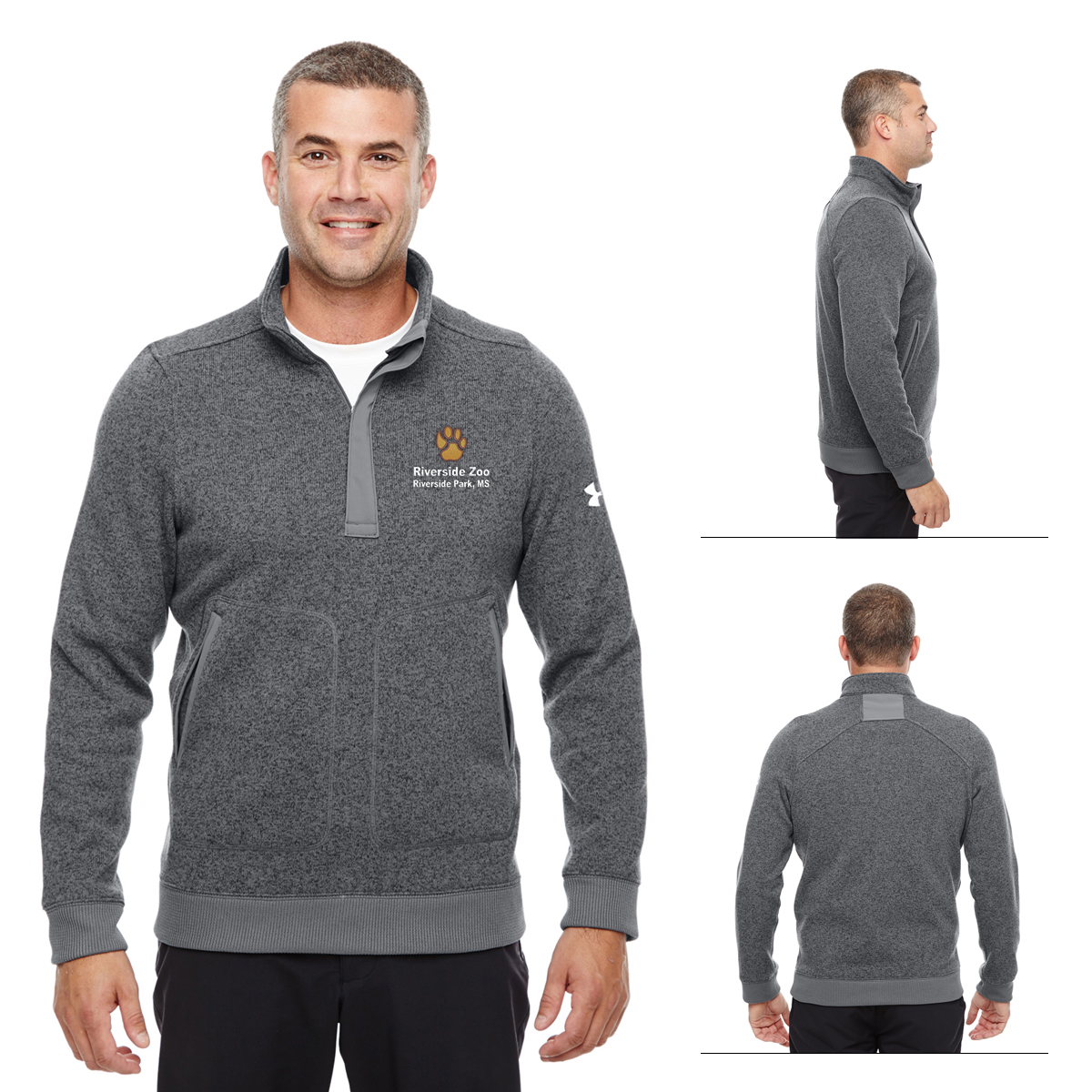 921be86e7 Promotional Under Armour Men's Elevate 1/4 Zip Sweater | Customized ...