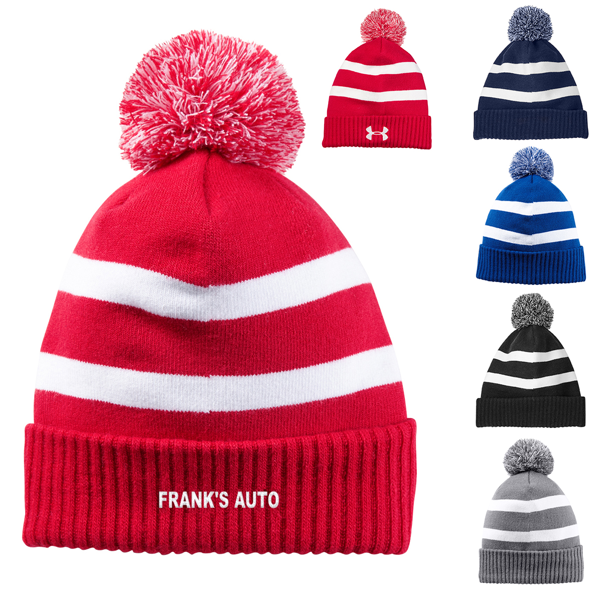 Promotioinal Under Armour Pom Beanie c37f32a3183