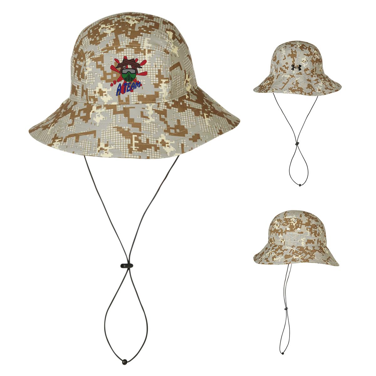 Customized Under Armour Warrior Bucket Digital Camouflage Hat ... 4221391a513b
