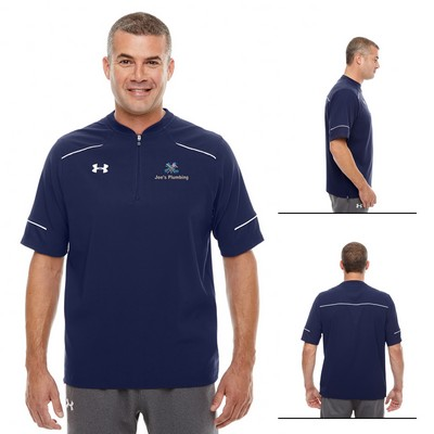 Custom Under Armour MenS Ultimate Short Sleeve Windshirt