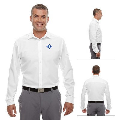 Custom Under Armour MenS Ultimate Long Sleeve Buttondown