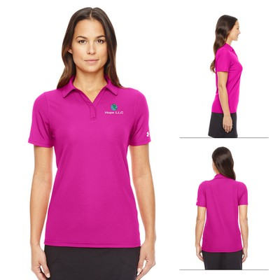 Promotional Under Armour Ladies Corp Performance Polo