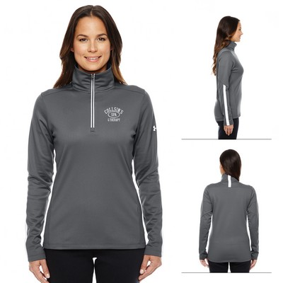 Promotional Under Armour Ladies Qualifier 1-4 Zip