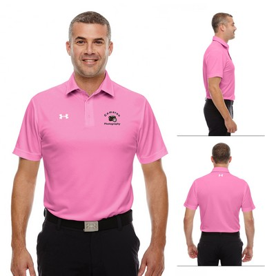 Customized Under Armour MenS Tech Polo