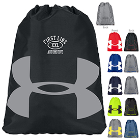 Custom Under Armour Ozsee Drawstring Sackpack