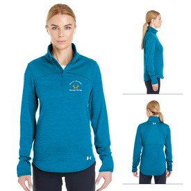 Promotional Under Armour Ladies Expanse 1-4 Zip