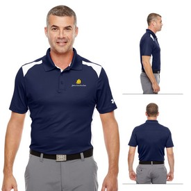 Promotional Under Armour MenS Team Colorblock Polo